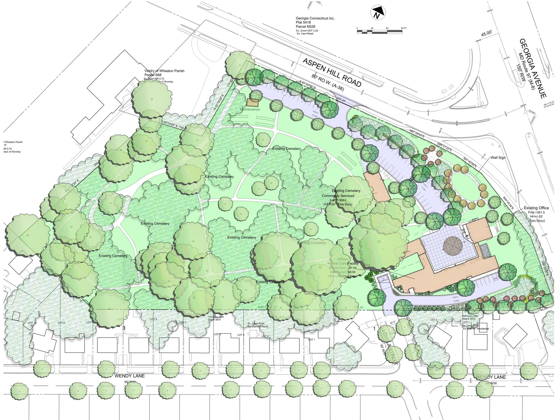 Mchs Campus Map.Montgomery County Humane Society Campus Gbr Architects